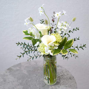 青山花茂ベーシックプランのお花