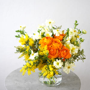 青山花茂プレミアムプランのお花