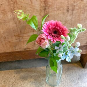 bloomeeレギュラープランのお花