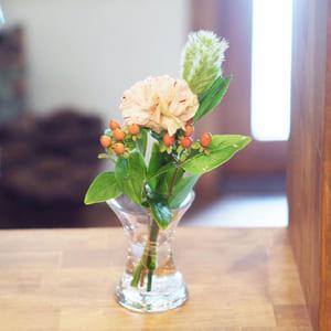 bloomee体験プランのお花