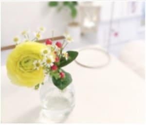 medeluエニールームのお花