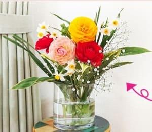 ピュアフラワーのお花