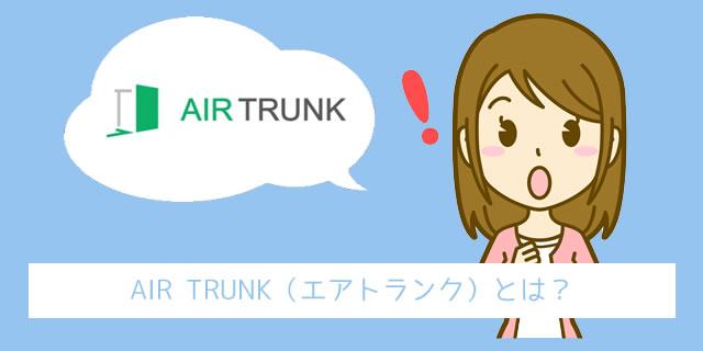 エアトランク(AIR TRUNK)とは
